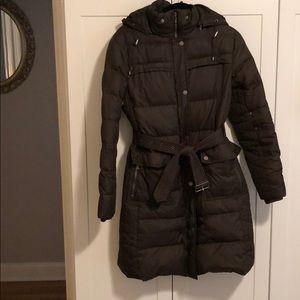 Tommy Hilfiger belted winter coat